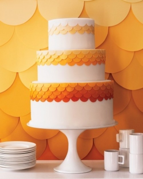 Ideas de Decoración de Bodas en color Naranja 11